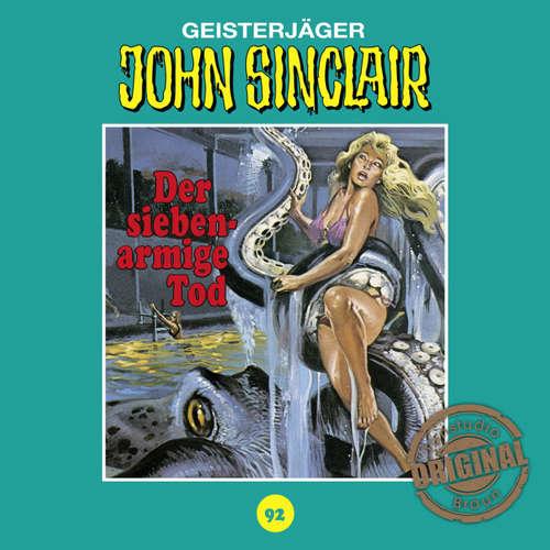 Hoerbuch John Sinclair, Tonstudio Braun, Folge 92: Der siebenarmige Tod - Jason Dark -  Diverse