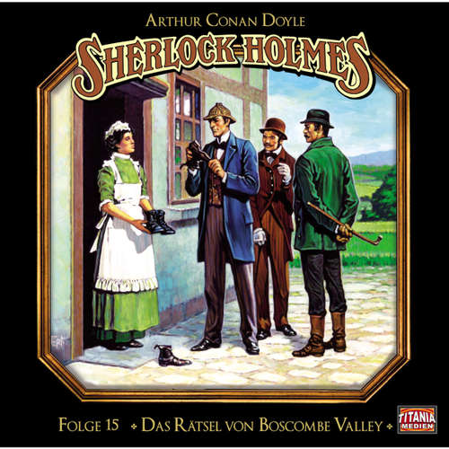 Hoerbuch Sherlock Holmes - Die geheimen Fälle des Meisterdetektivs, Folge 15: Das Rätsel von Boscombe Valley - Arthur Conan Doyle - Joachim Tennstedt