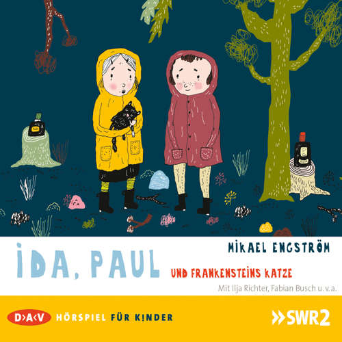 Hoerbuch Ida, Paul und Frankensteins Katze - Mikael Engström - Fabian Busch