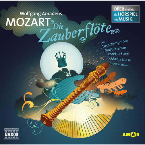 Hoerbuch Die Zauberflöte - Wolfgang Amadeus Mozart - Luca Zamperoni
