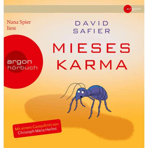 Hoerbuch Mieses Karma - David Safier - Nana Spier