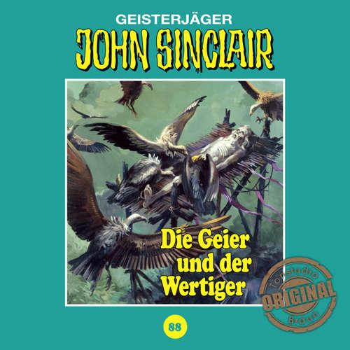 Hoerbuch John Sinclair, Tonstudio Braun, Folge 88: Die Geier und der Wertiger - Jason Dark -  Diverse