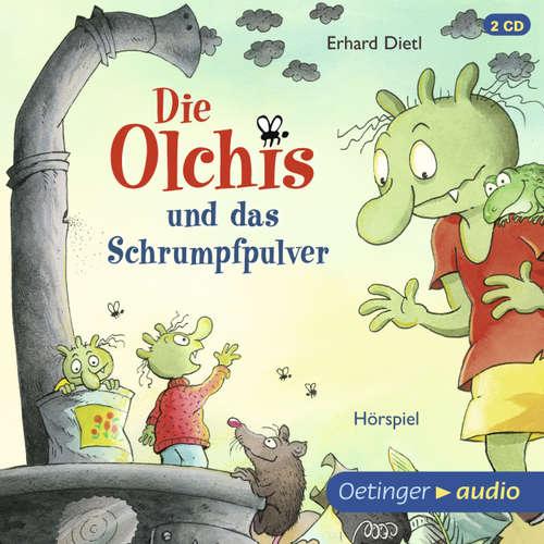 Hoerbuch Die Olchis, Die Olchis und das Schrumpfpulver - Erhard Dietl - Wolf Frass