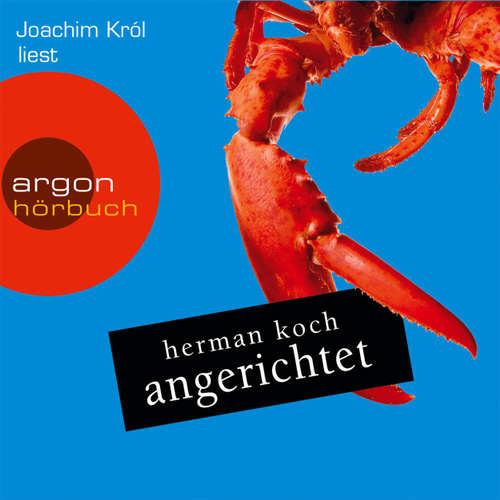 Hoerbuch Angerichtet - Herman Koch - Joachim Król