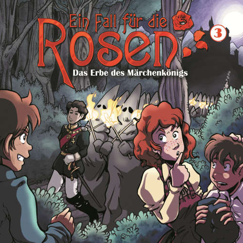 Hoerbuch Ein Fall für die Rosen, Folge 3: Das Erbe des Märchenkönigs - Markus Winter - Bernd Vollbrecht