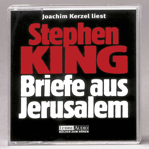 Hoerbuch Briefe aus Jerusalem - Stephen King - Joachim Kerzel