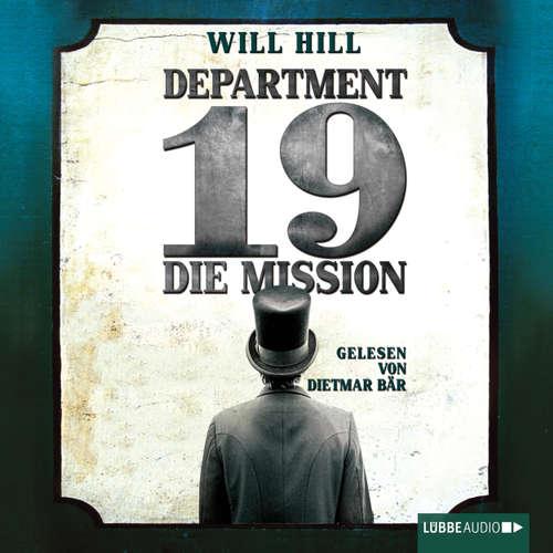 Hoerbuch Department 19 - Die Mission - Will Hill - Dietmar Bär
