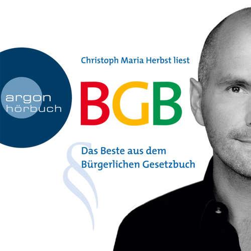 Hoerbuch BGB - Das Beste aus dem Bürgerlichen Gesetzbuch -  Diverse - Christoph Maria Herbst