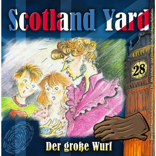 Scotland Yard, Folge 28: Der grosse Wurf