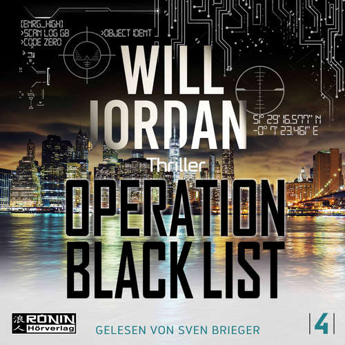 Hoerbuch Operation Black List - Ryan Drake 4 - Will Jordan - Sven Brieger