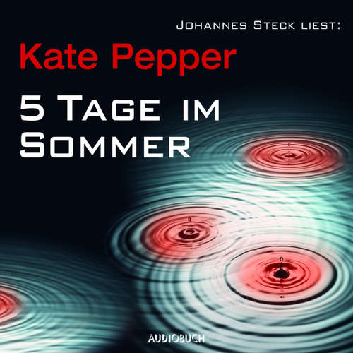 Hoerbuch 5 Tage im Sommer - Kate Pepper - Johannes Steck