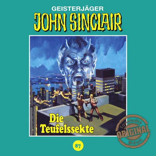 Hoerbuch John Sinclair, Tonstudio Braun, Folge 87: Die Teufelssekte - Jason Dark -  Diverse