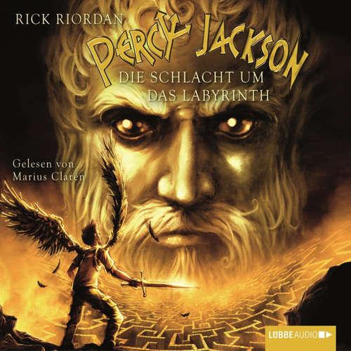 Hoerbuch Percy Jackson, Teil 4: Die Schlacht um das Labyrinth - Rick Riordan - Marius Clarén