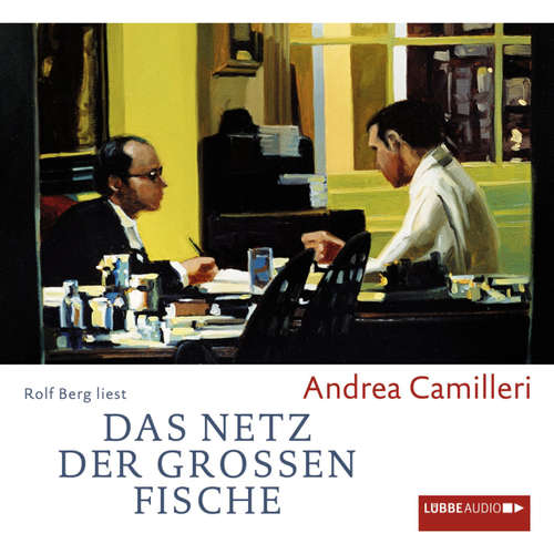 Hoerbuch Das Netz der großen Fische - Andrea Camilleri - Rolf Berg