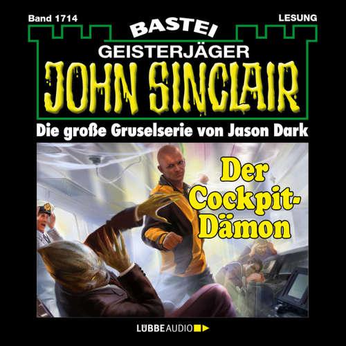 Hoerbuch John Sinclair, Band 1714: Der Cockpit-Dämon - Jason Dark - Carsten Wilhelm