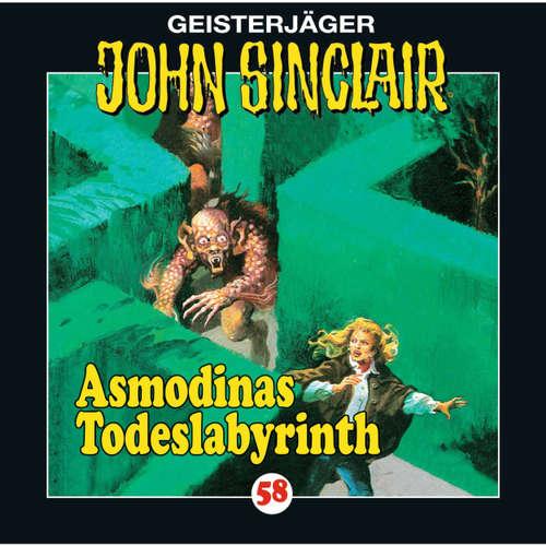 Hoerbuch John Sinclair, Folge 58: Asmodinas Todeslabyrinth - Jason Dark - Joachim Kerzel