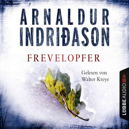 Hoerbuch Frevelopfer - Arnaldur Indriðason - Walter Kreye