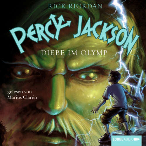 Hoerbuch Percy Jackson, Teil 1: Diebe im Olymp - Rick Riordan - Marius Clarén