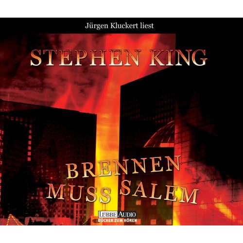 Hoerbuch Brennen muss Salem - Stephen King - Jürgen Kluckert