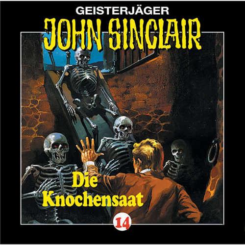 Hoerbuch John Sinclair, Folge 14: Knochensaat - Jason Dark - Frank Glaubrecht