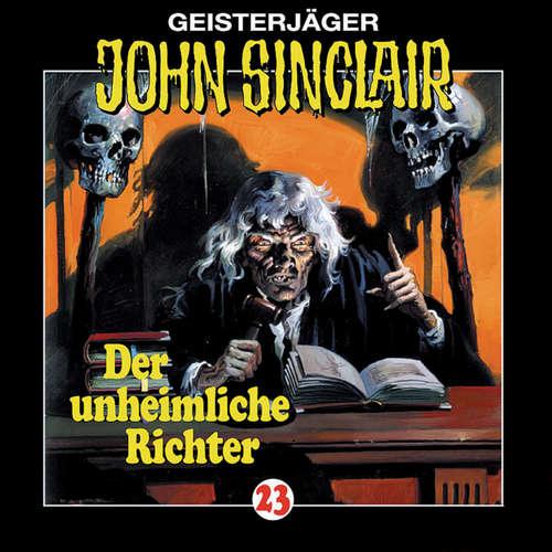 Hoerbuch John Sinclair, Folge 23: Der unheimliche Richter - Jason Dark - Frank Glaubrecht