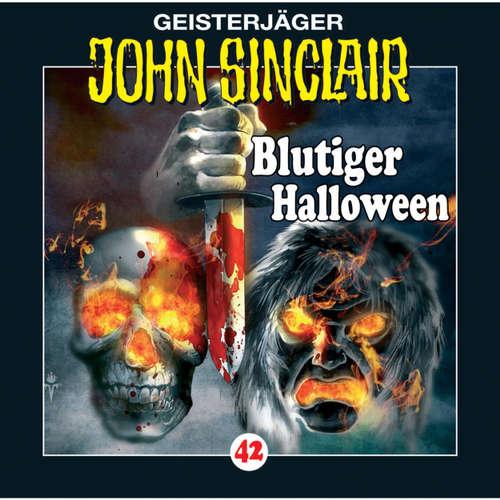 Hoerbuch John Sinclair, Folge 42: Blutiger Halloween - Jason Dark - Frank Glaubrecht