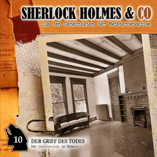 Hoerbuch Sherlock Holmes & Co, Folge 10: Der Griff des Todes - Jacques Futrelle - Lutz Mackensy