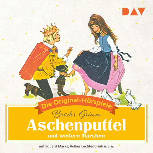 Hoerbuch Aschenputtel und weitere Märchen (Hörspiel) - Jacob Grimm - Eduard Marks