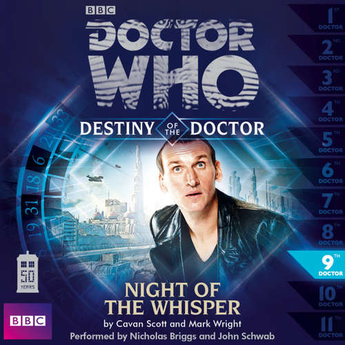Audiobook Doctor Who - Destiny of the Doctor, Series 1, 9: Night of the Whisper - Cavan Scott - Nicholas Briggs