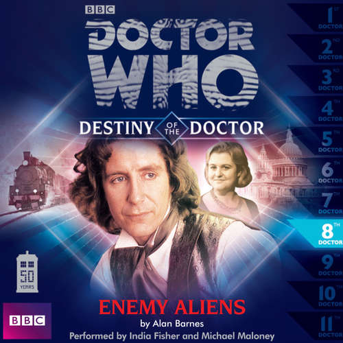 Audiobook Doctor Who - Destiny of the Doctor, Series 1, 8: Enemy Aliens - Alan Barnes - India Fisher