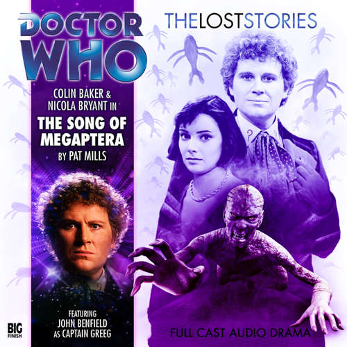 Audiobook Doctor Who - The Lost Stories, Series 1, 7: The Song of Megaptera - Pat Mills - Colin Baker