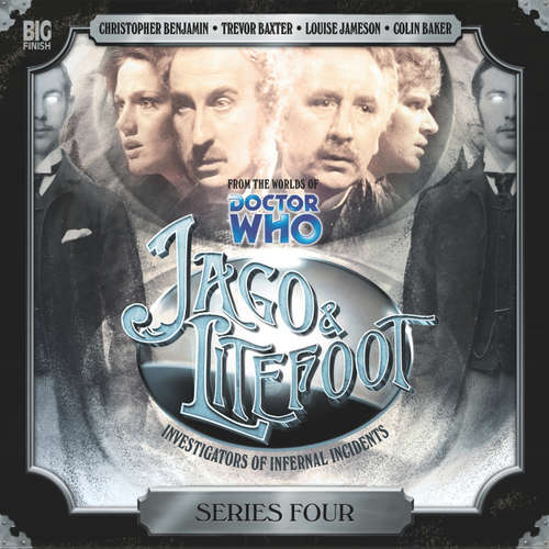Audiobook Jago & Litefoot, Series 4 - Nigel Fairs - Christopher Benjamin