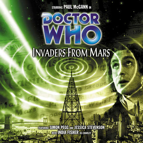 Audiobook Doctor Who, Main Range, 28: Invaders from Mars - Mark Gatiss - Paul McGann