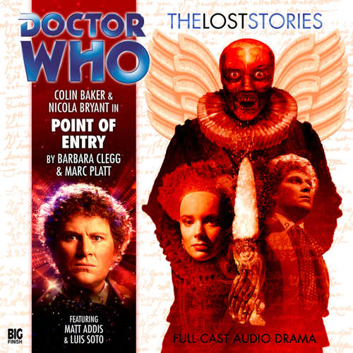 Audiobook Doctor Who - The Lost Stories, Series 1, 6: Point of Entry - Barbara Clegg - Colin Baker