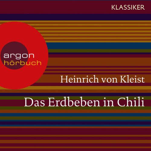 Hoerbuch Das Erdbeben in Chili - Heinrich von Kleist - Matthias Haase