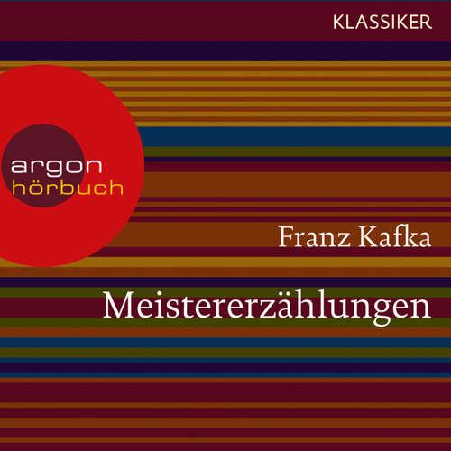 Hoerbuch Meistererzählungen - Franz Kafka - Gerd Wameling