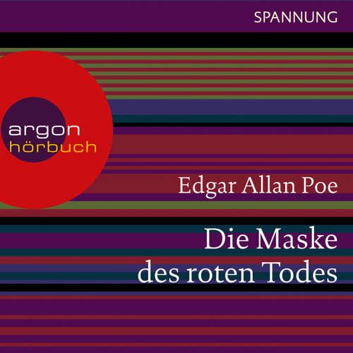 Hoerbuch Die Maske des roten Todes - Edgar Allan Poe - Joachim Schönfeld
