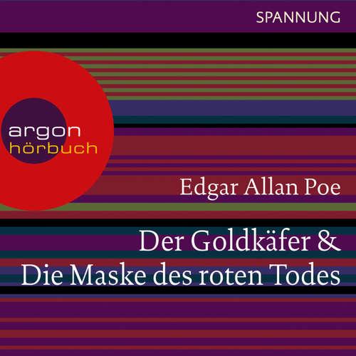 Hoerbuch Der Goldkäfer / Die Maske des roten Todes - Edgar Allan Poe - Joachim Schönfeld