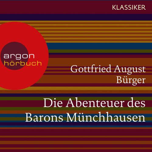 Hoerbuch Die Abenteuer des Barons Münchhausen - Gottfried August Bürger - Martin Seifert