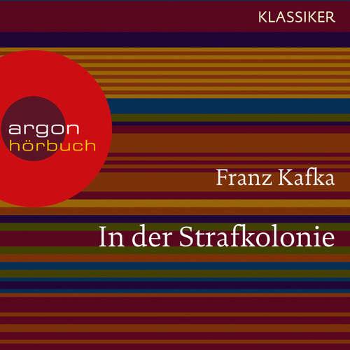 Hoerbuch In der Strafkolonie - Franz Kafka - Oliver Nitsche