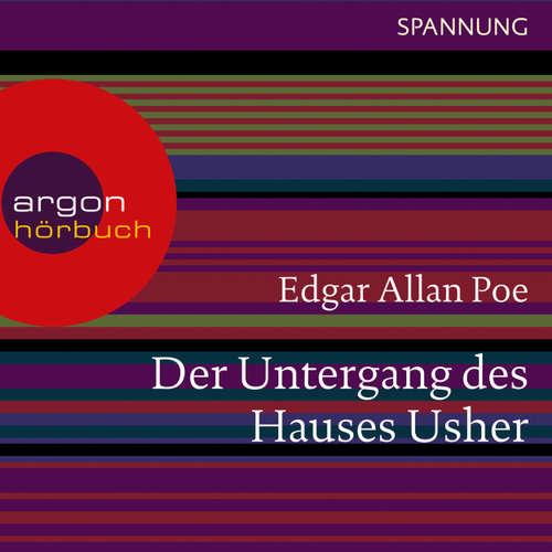 Hoerbuch Der Untergang des Hauses Usher - Edgar Allan Poe - Thomas Vogt