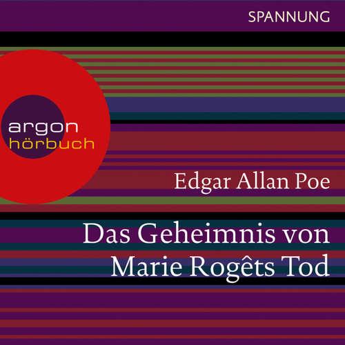 Hoerbuch Das Geheimnis von Marie Rogêts Tod - Edgar Allan Poe - Ulrich Noethen