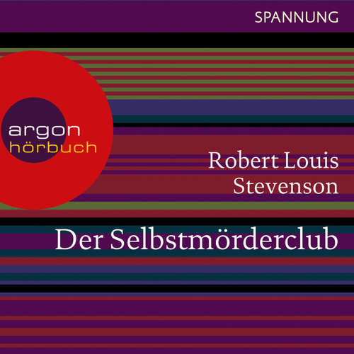 Hoerbuch Der Selbstmörderclub - Robert Louis Stevenson - Andreas Petri