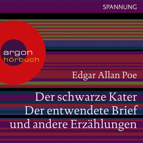 Hoerbuch Der schwarze Kater, Der entwendete Brief u.a. - Edgar Allan Poe - Burghart Klaußner