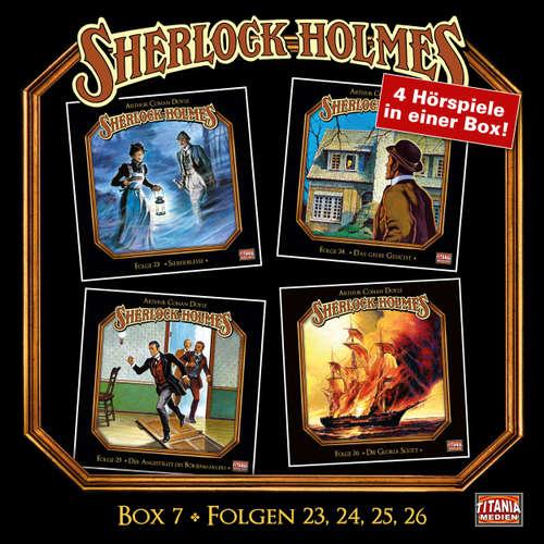 Hoerbuch Sherlock Holmes - Die geheimen Fälle des Meisterdetektivs, Box 7: Folgen 23, 24, 25, 26 - Arthur Conan Doyle - Joachim Tennstedt