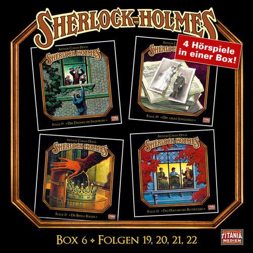 Hoerbuch Sherlock Holmes - Die geheimen Fälle des Meisterdetektivs, Box 6: Folgen 19, 20, 21, 22 - Arthur Conan Doyle - Joachim Tennstedt