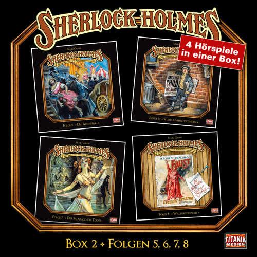 Hoerbuch Sherlock Holmes - Die geheimen Fälle des Meisterdetektivs, Box 2: Folgen 5, 6, 7, 8 - Arthur Conan Doyle - Joachim Tennstedt