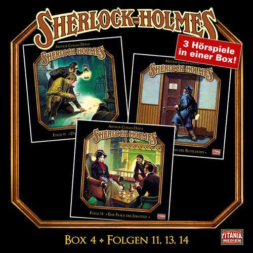 Hoerbuch Sherlock Holmes - Die geheimen Fälle des Meisterdetektivs, Box 4: Folgen 11, 13, 14 - Arthur Conan Doyle - Joachim Tennstedt