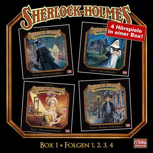 Hoerbuch Sherlock Holmes - Die geheimen Fälle des Meisterdetektivs, Box 1: Folgen 1, 2, 3, 4 - Arthur Conan Doyle - Joachim Tennstedt