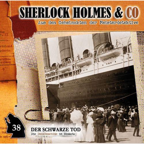 Hoerbuch Sherlock Holmes & Co, Folge 38: Der schwarze Tod - Markus Duschek - Martin Keßler